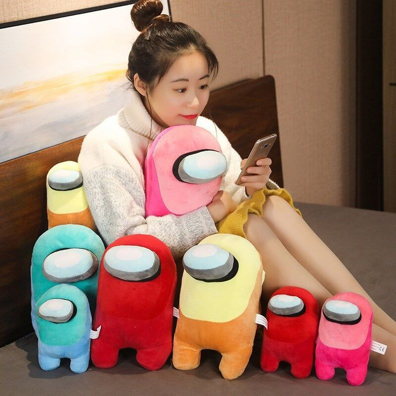 Among Us Plush Imposter Stuffer Amoung Us Video Game Toy Doll Kids Birthday Gift