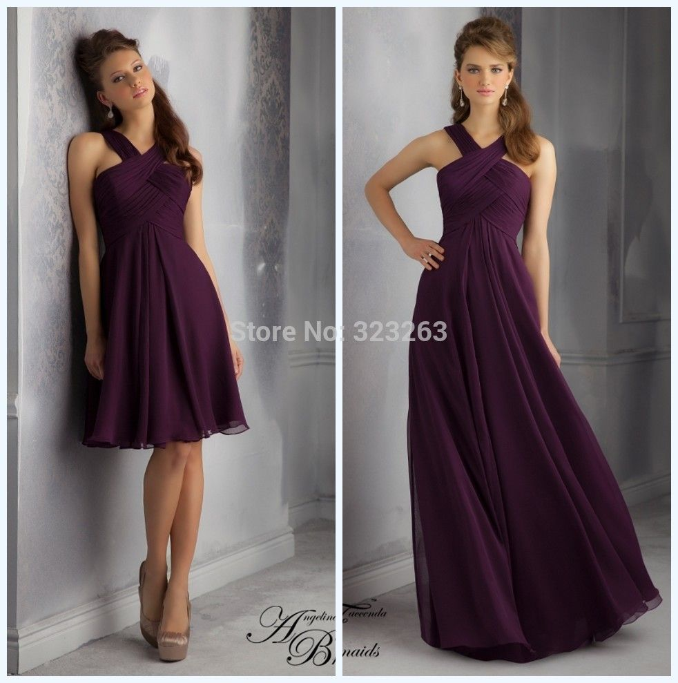 Long dark purple crepe bridesmaid dresses google search our long dark purple crepe bridesmaid dresses google search ombrellifo Image collections