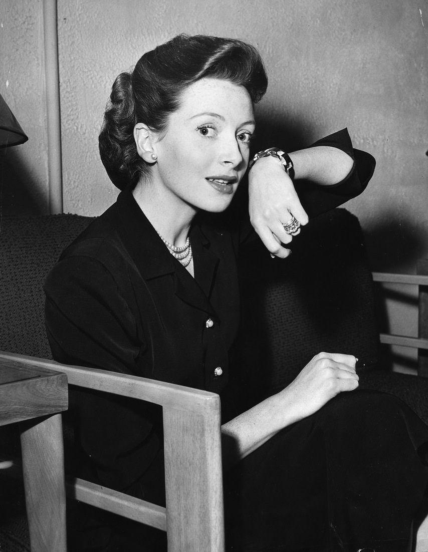 Deborah Kerr at the Lux Radio Theatre on October 18th, 1948.