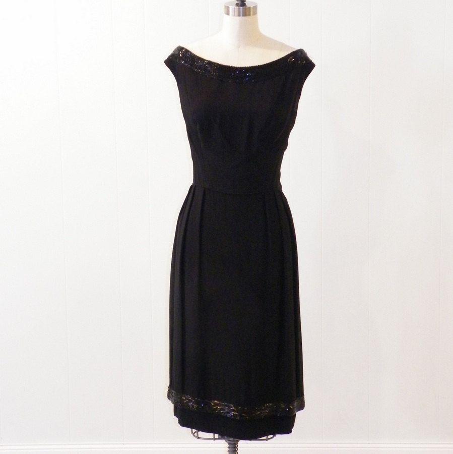 Black 1960s Dress Beaded Pat Sandler 60s Cocktail Dress Lbd Etsy Dresses 60s Cocktail Dress Black Cocktail Dress [ 900 x 899 Pixel ]