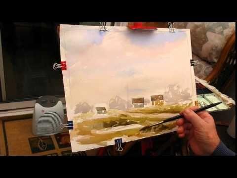 Watercoloring loose