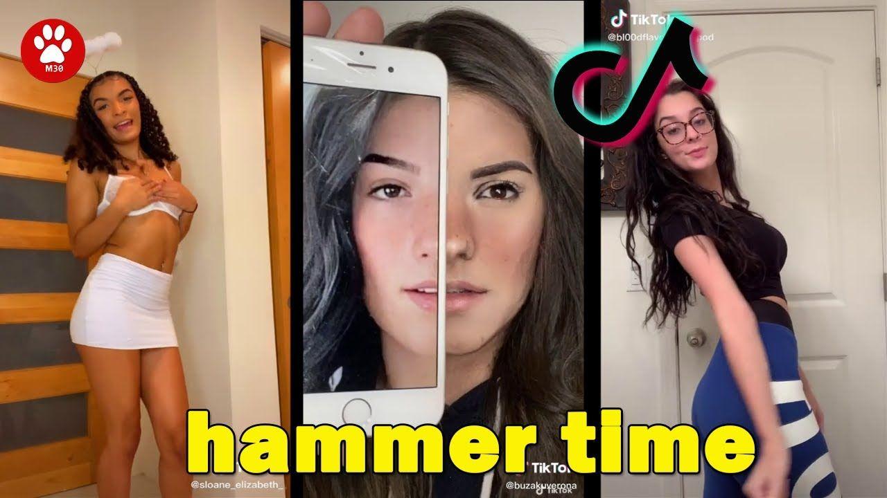 Hammer Time Kaya Watier Clean Tiktok Compilation November 2020 Funny T Funny T Kaya Youtube