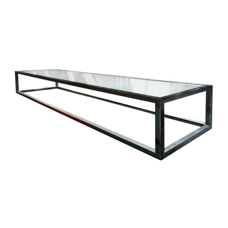 Coffee Table Rectangular Chrome And Glass Coffee Table Modern Glass Coffee Table Modern Coffee Tables Table