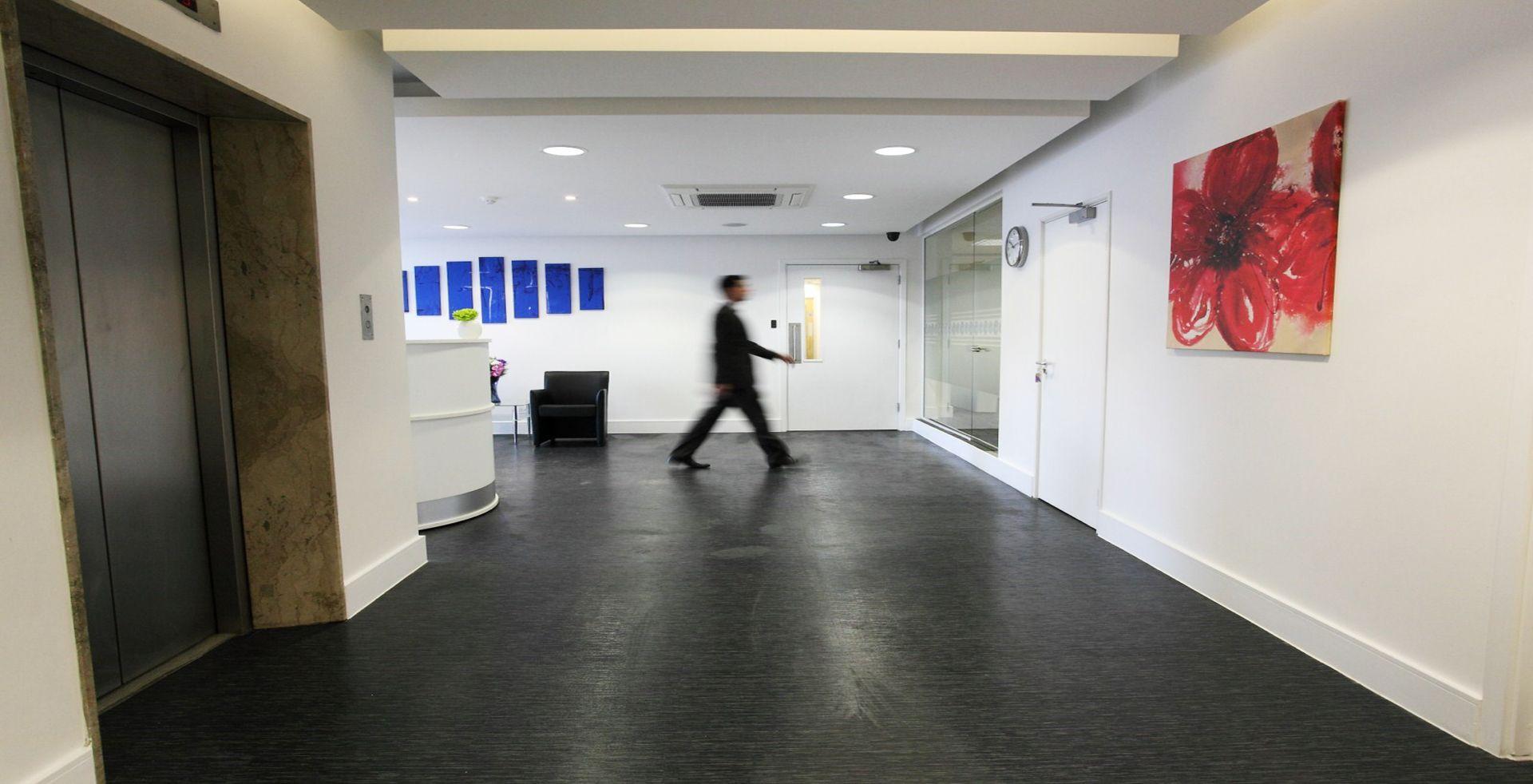 modern office reception design. #office #interior #design For Modern Office Reception Design - Tempus Court