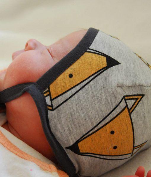 Freebook Käppchen Rockers - Schnittmuster Babymütze | nähen für ...