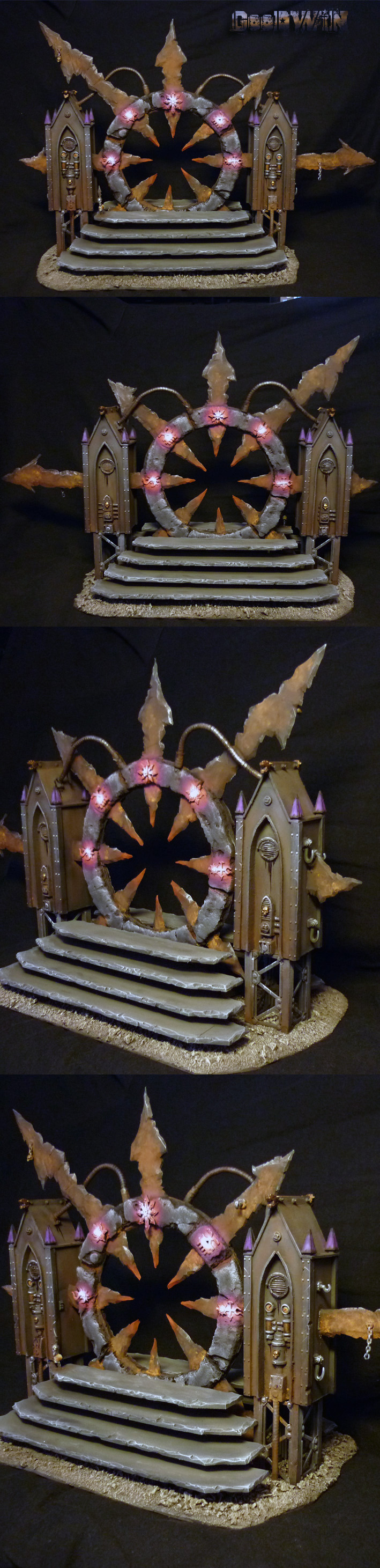 CoolMiniOrNot - Chaos Warpgate by lordNicon