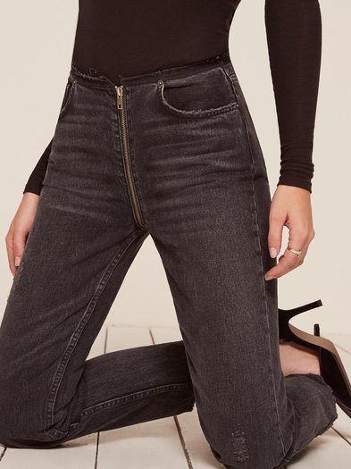 dcd521efaee3 Zipper Jean