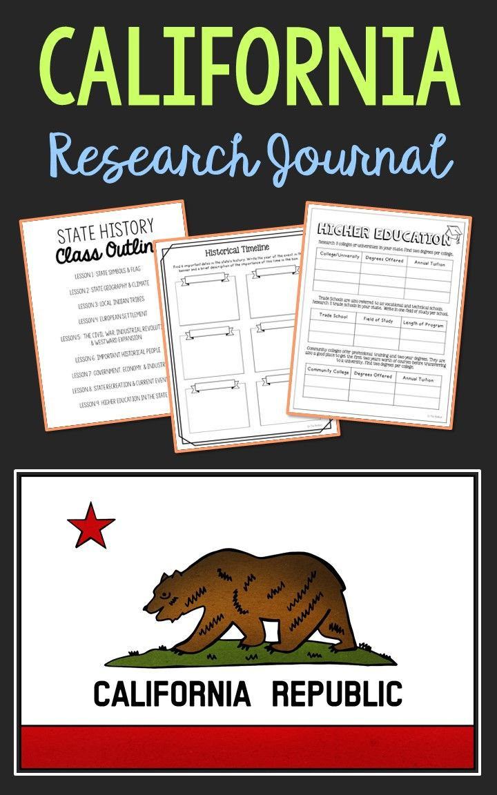 CALIFORNIA Project | State Research Activities | History