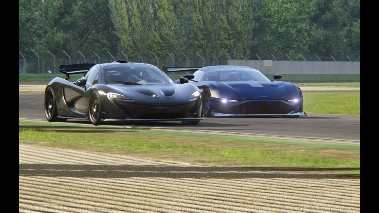 Battle Aston Martin Vulcan R Vs Mclaren P1 At Imola Aston Martin Vulcan Aston Martin Imola