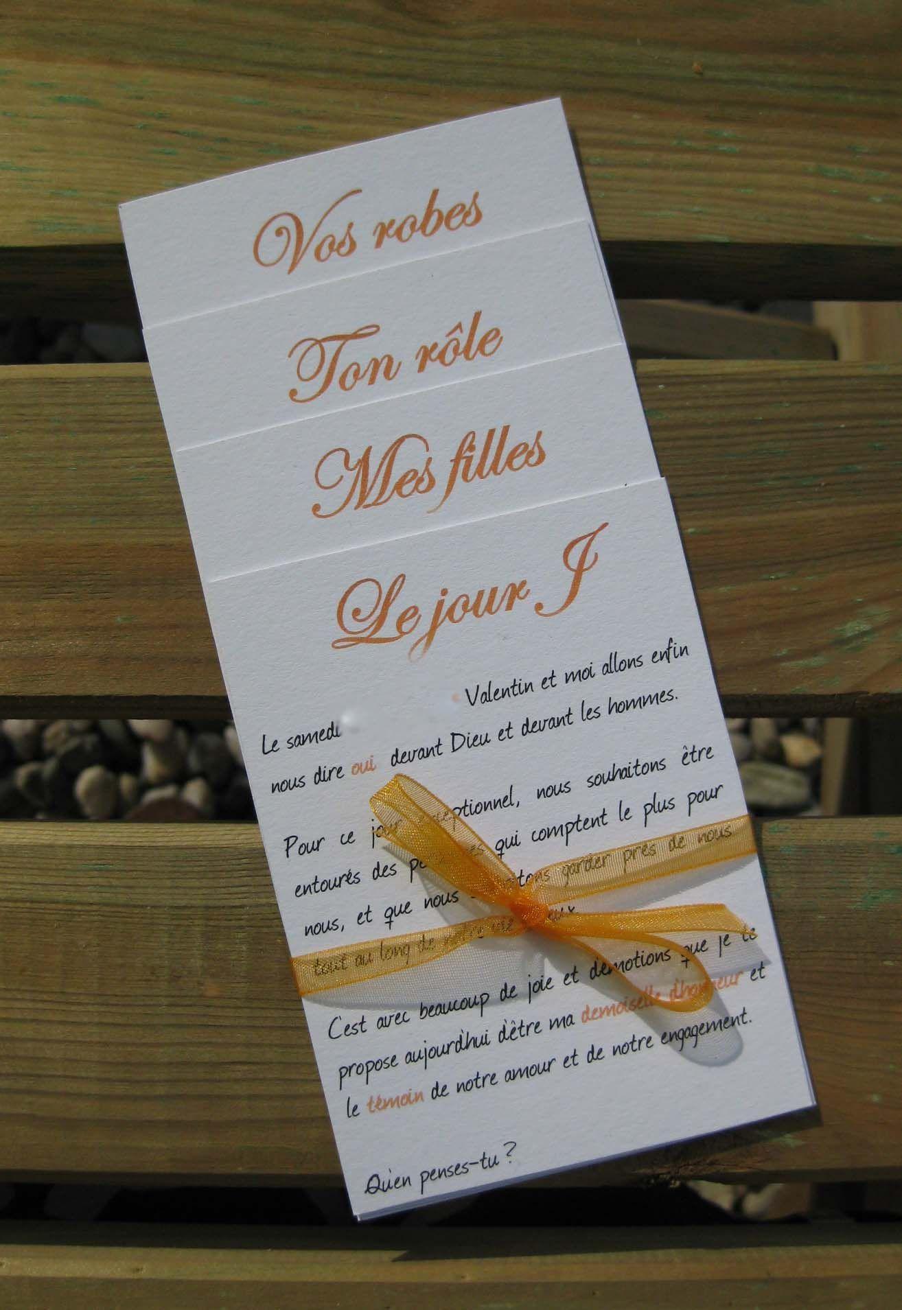 Annonce Témoin Mariage dedans sois mon témoin de mariage… pte boite surprise contenant demande