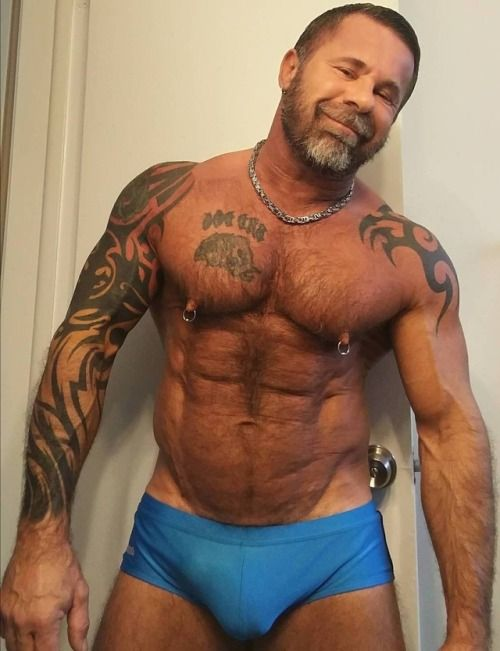 Bear mature muscle