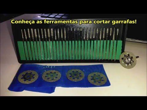 CONHEÇA AS FERRAMENTAS PARA CORTAR GARRAFAS.