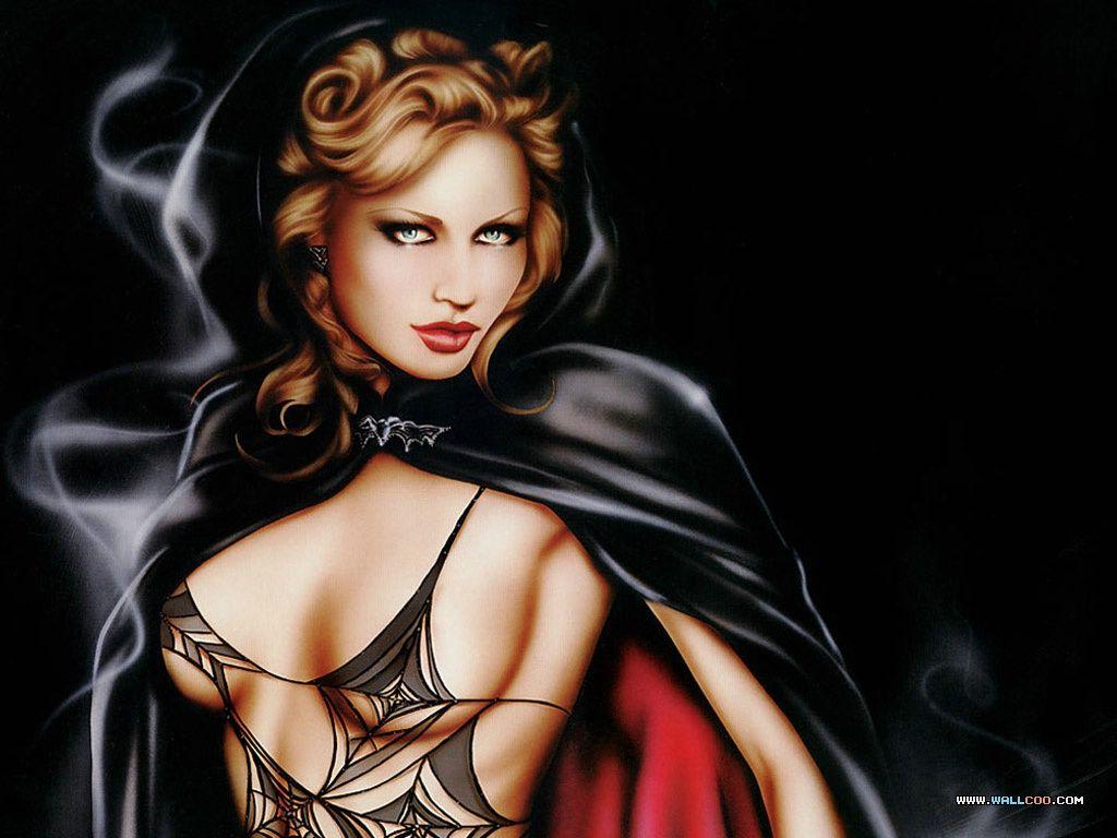 Erotic naked female fantasy art