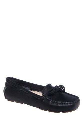 726ff8ea97e Love UGG Australia Meena Sheepskin Lined Driving Loafer Black