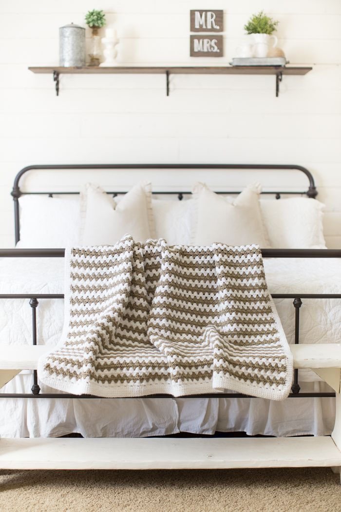Simple Granny Stripe Afghan | tips for the home | Pinterest | Croché ...