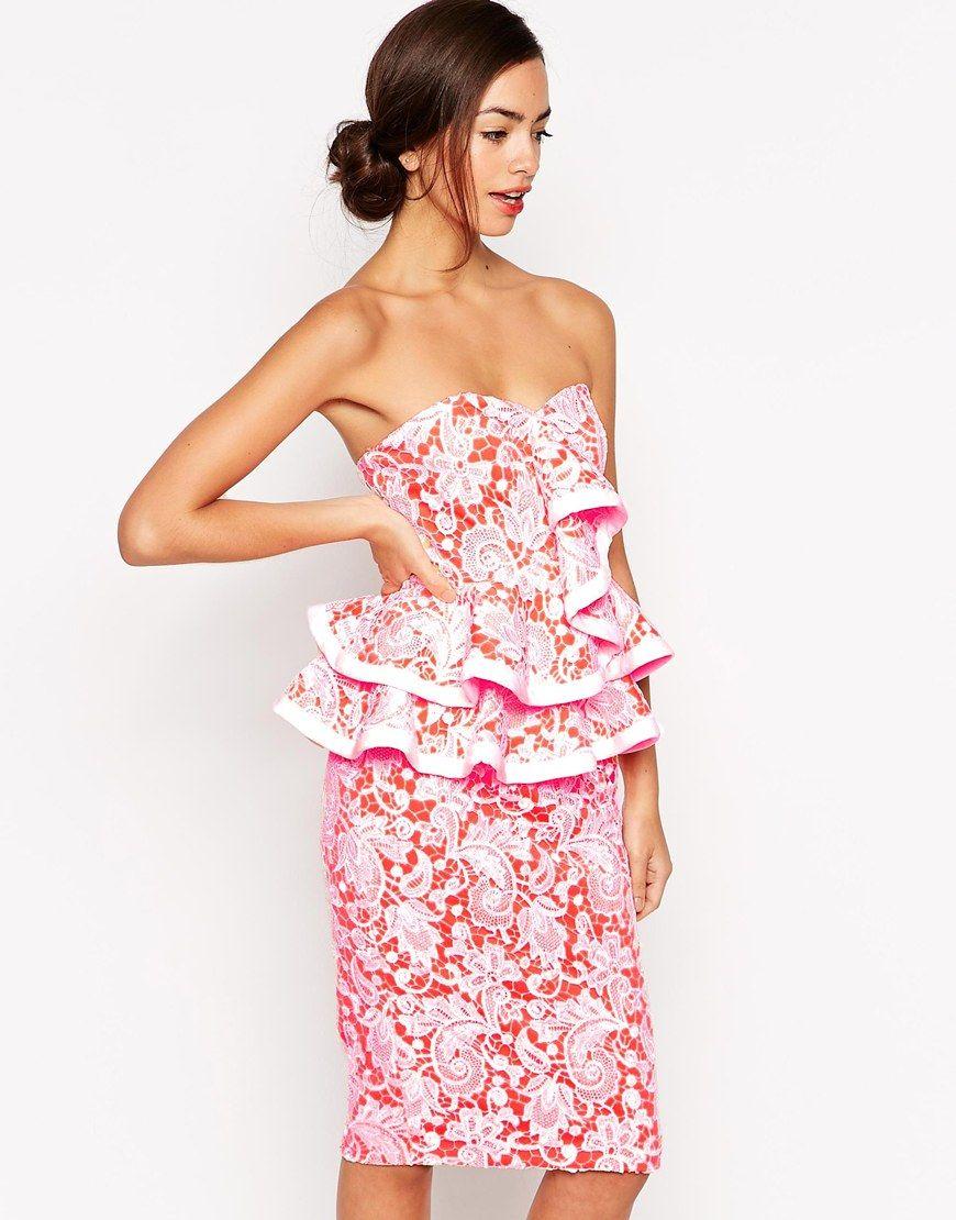 Forever+Unique+Amaryllis+Peplum+Frill+Dress | I Like Your Style ...