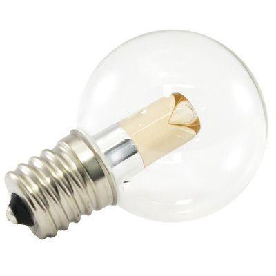 American Lighting LLC E26/Medium LED Light Bulb Wattage: 1W, Bulb Temperature: 1900K