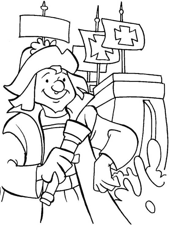 Columbus Day Trivia Coloring Page Kids Play Color Coloring Pages Online Coloring Columbus Day