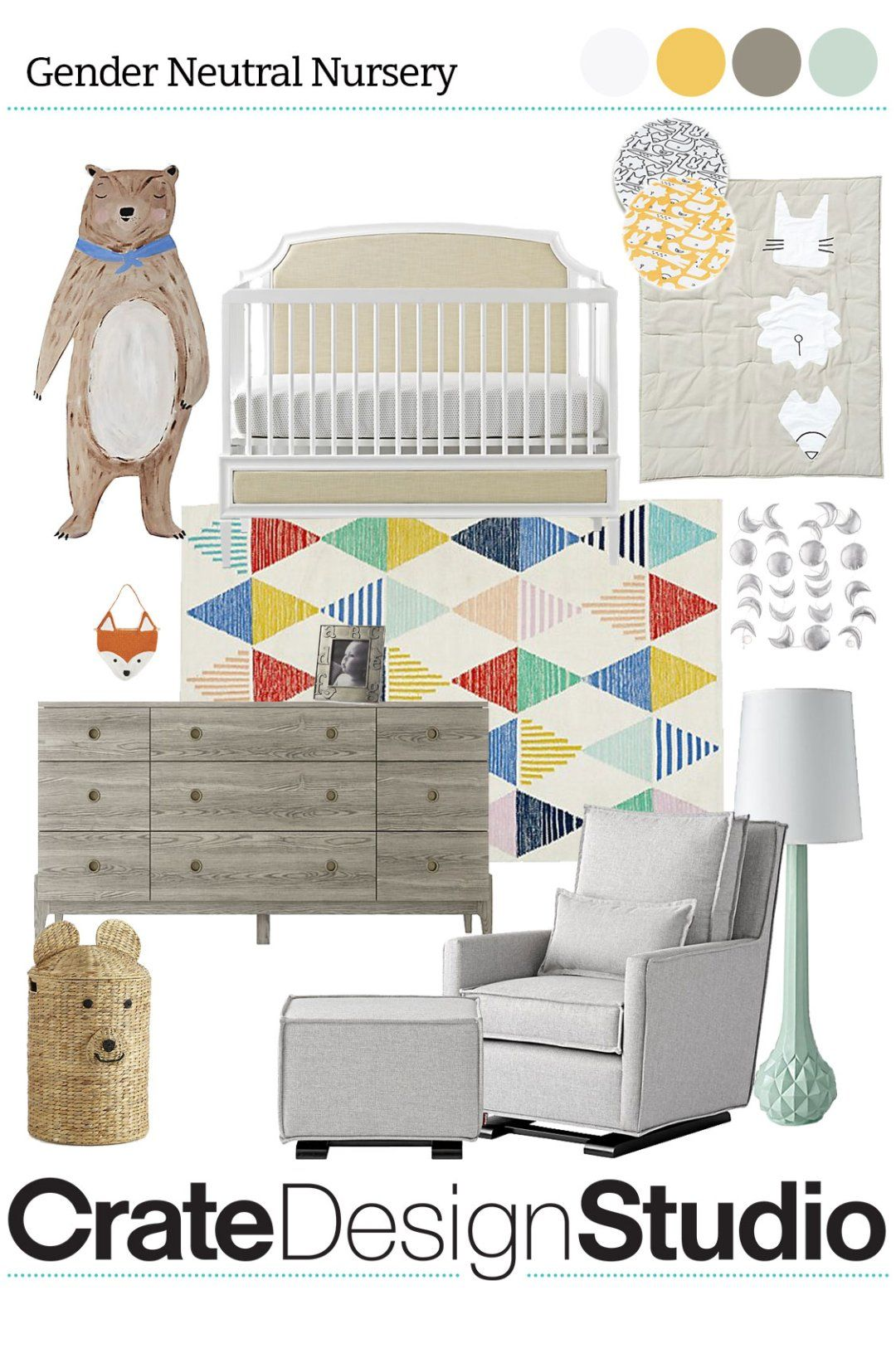 Nursery Furniture For The Whole Home Transitional Nursery
