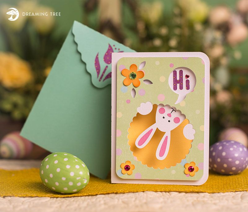 Download Easter Card (Free SVG) | Free cut files | Free easter ...