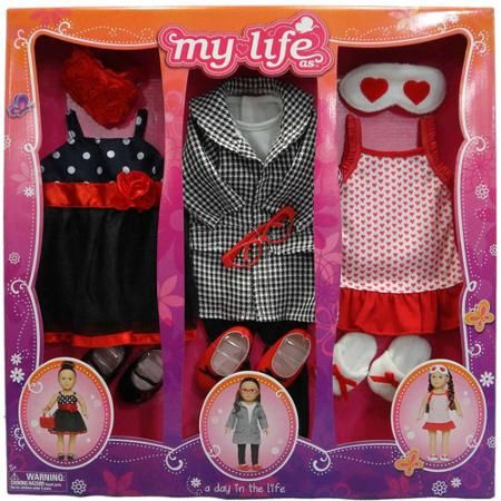 My Life As A Day In The Life Clothing Sets Walmart Com Doll