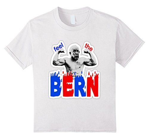 Feel The Bern Shirt - Bernie Sanders 2016 Muscle T-Shirt -  Youth Size Bernie Sanders For President 2016 Tees http://www.amazon.com/dp/B01AVMKYES/ref=cm_sw_r_pi_dp_ckkSwb0DFK6K3 #kidsforbernie #feelthebern
