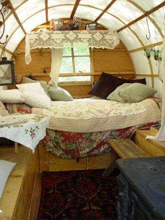 Sheep wagon mobile living Pinterest Sheep Gypsy wagon and