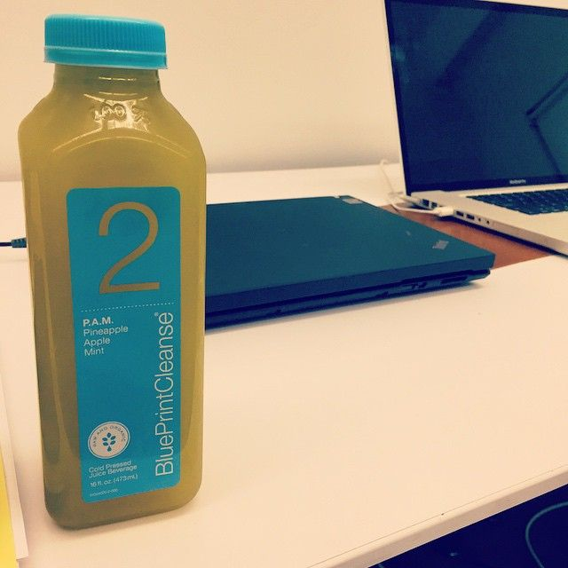 TGIF but now that the week is over so is my @blueprintcleanse! Going - new blueprint cleanse video