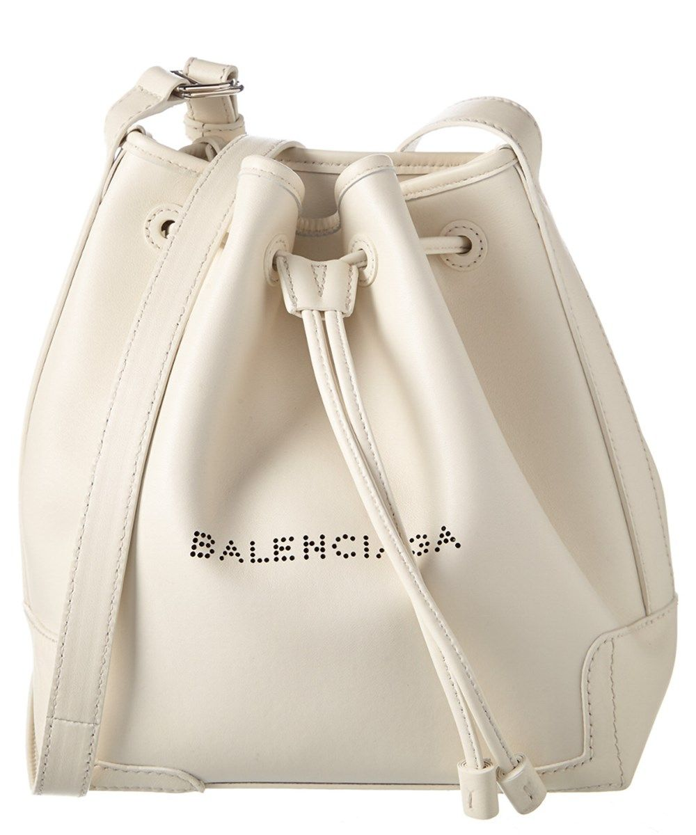 39c2365b5d54 Balenciaga Balenciaga Navy Small Leather Bucket Bag