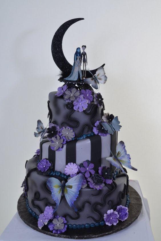 Nightmare Before Christmas Wedding Cake Image Hywedd