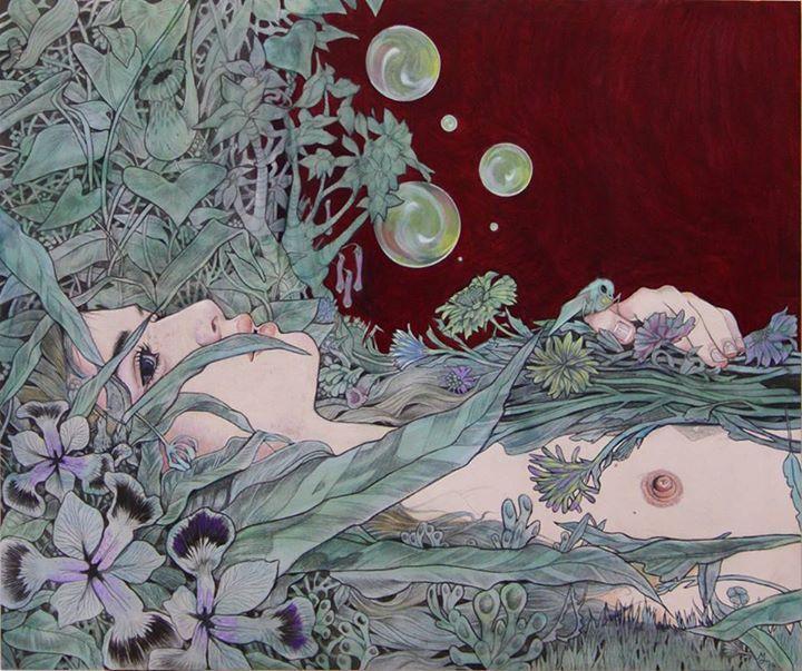 painting by Martine Johanna