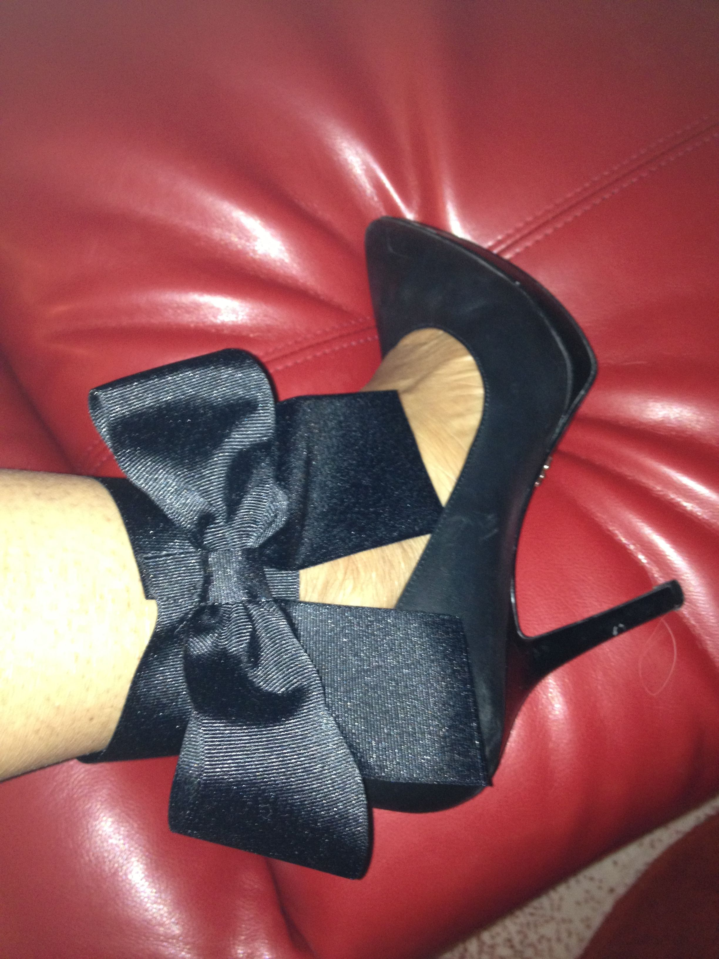 DIY cuffs I made inspired by Aminah Jillil Shoes!!!