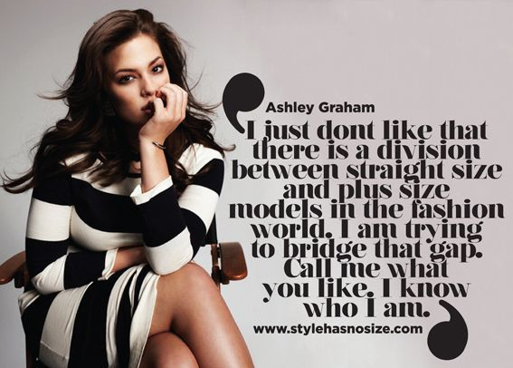 """Beautiful Words From Ashley Graham: """"I Just Dont Like That"""