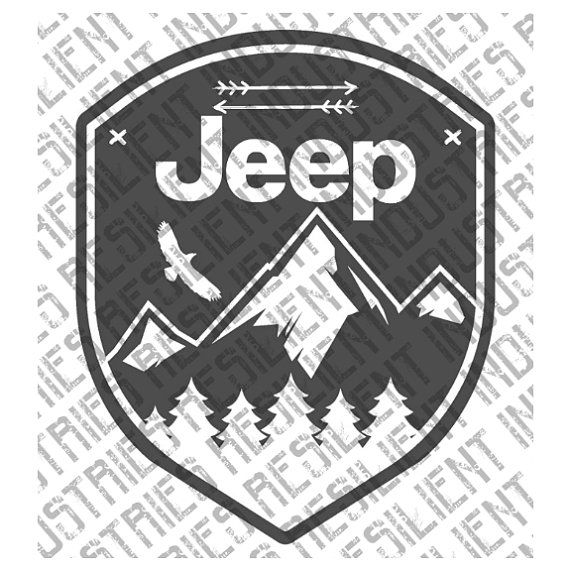 Jeep XJ Middle Finger Wave Vinyl Decal