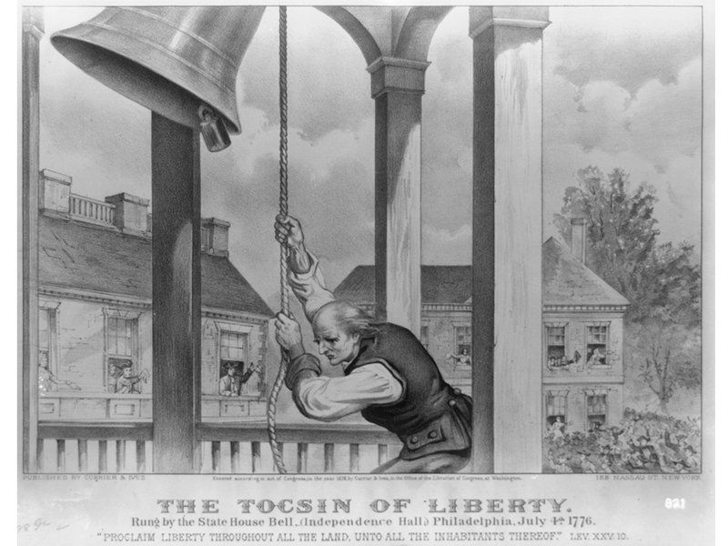 """500-years-business-company-cast-liberty-bell-ceasing-all-operations- A bell was a pre-modern communication device,""""  """"Bells were the way the community expressed itself, its political urgency, its faith."""" Even today, he points out, bells around the world """"express the necessary act of a people,"""" encouraging them to celebrate when a pope is elected or mourn when a leader has died."""