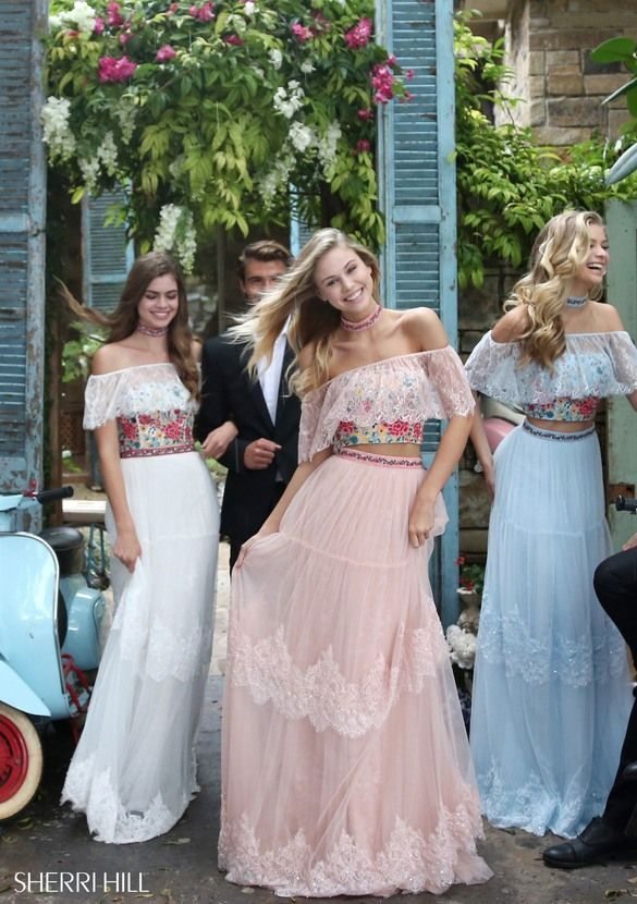 4704d6c37ddb 51022 - SHERRI HILL. 51022 - SHERRI HILL Floral Prom Dresses ...