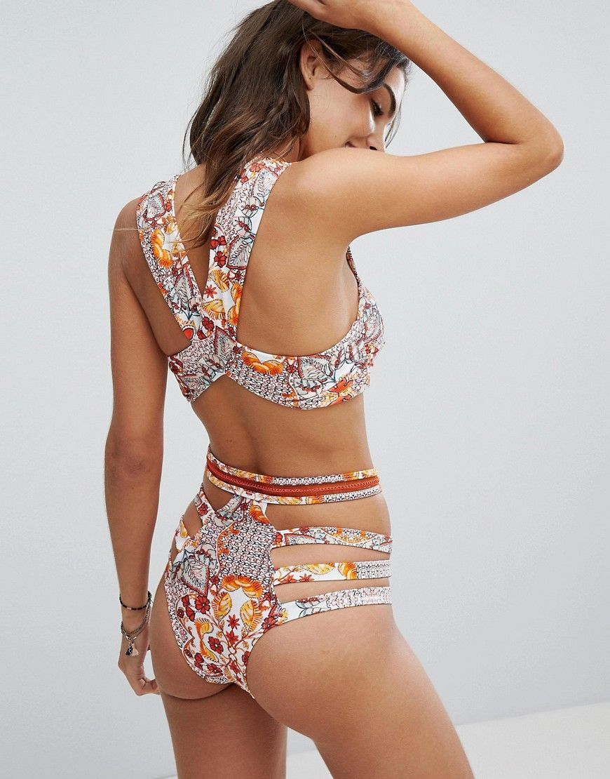 011520a5f8a Somedays Lovin Sun Drenched Bandeau Bikini Top in 2019 | Wet ...
