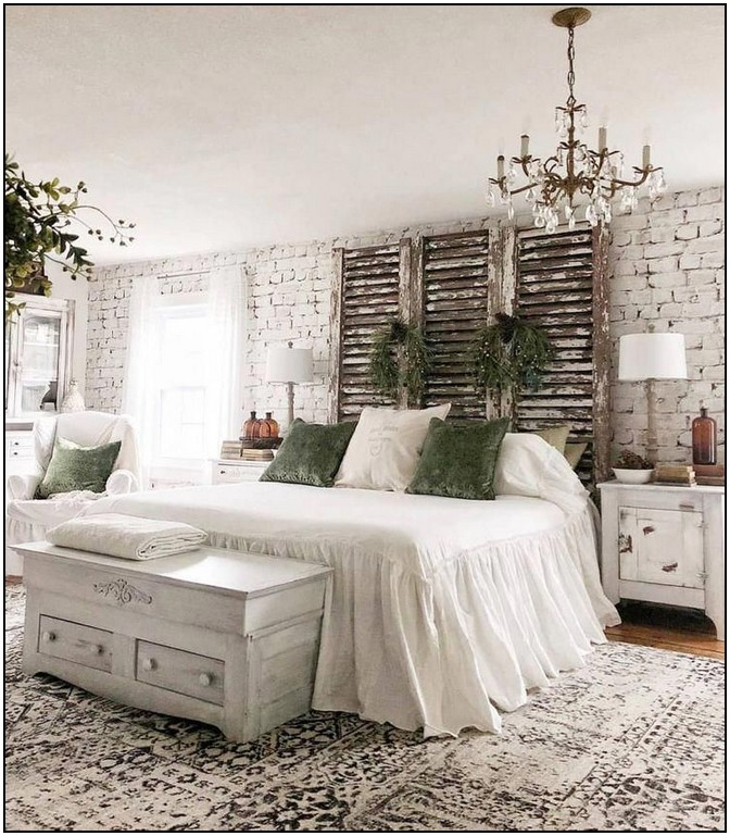 140 Amazing Farmhouse Style Master Bedroom Ideas 55 Farmhouse Bedroom Decor Vintage Bedroom Decor Master Bedrooms Decor