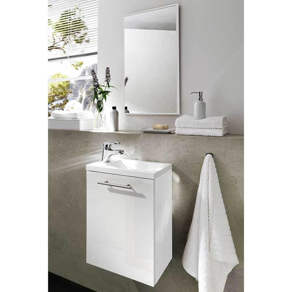 Badezimmer mit 2 waschtischen badezimmermöbel für kleines bad weiß teilig jetzt bestellen