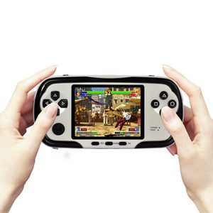 PlayMore - Multi-Platform Handheld Gaming Entertainment System (SNES, NES, GBA, Sega Genesis)  $79.99