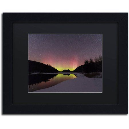 Trademark Fine Art 'Electric Dance' Canvas Art by Michael Blanchette Photography, Black Matte, Black Frame, Assorted