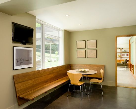 Floating Banquette Redo In 2019 Kitchen Banquette