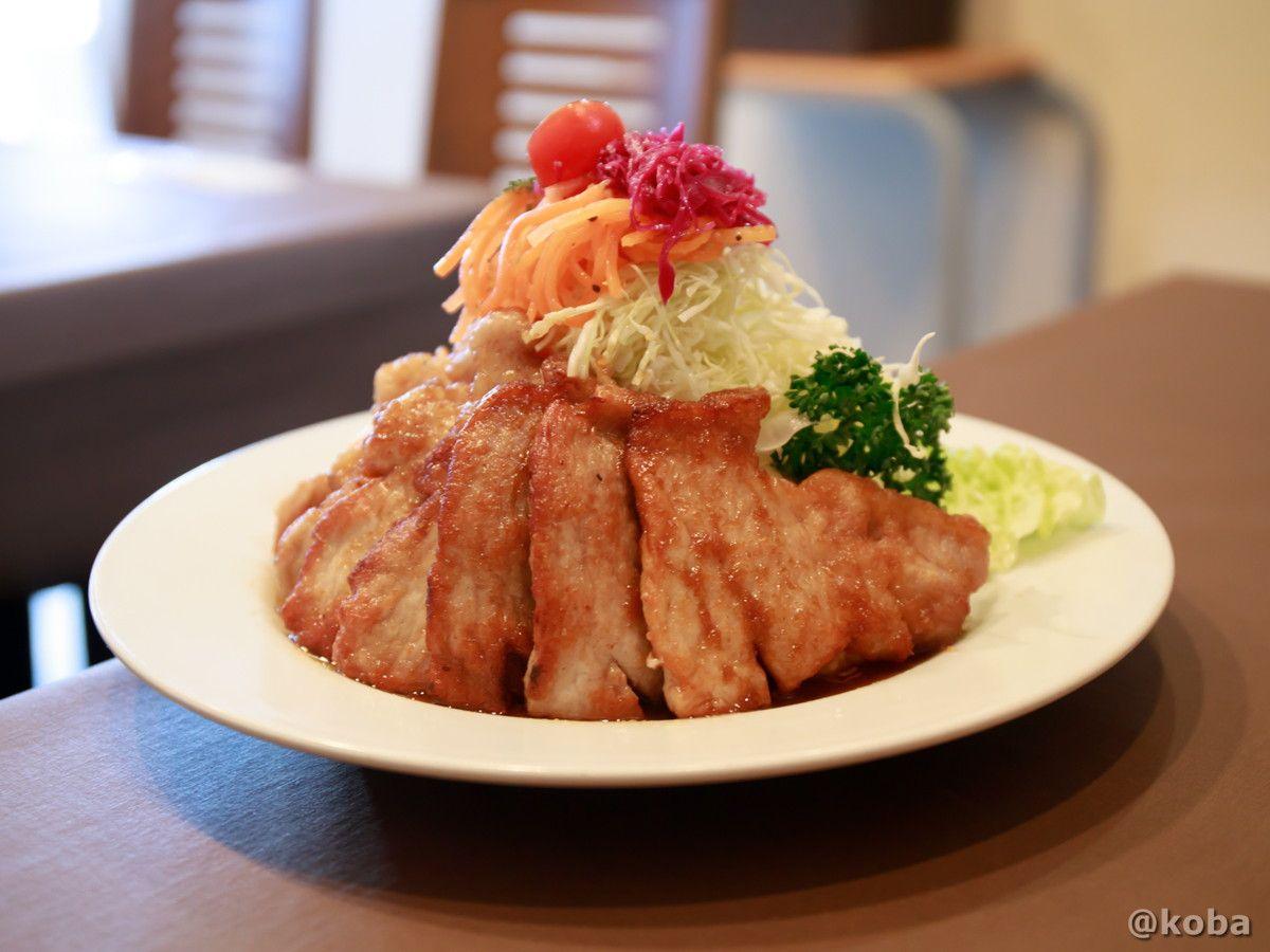 立石 大きなエビフライ 洋食工房ヒロ 洋食 ポークジンジャー 東京 ランチ