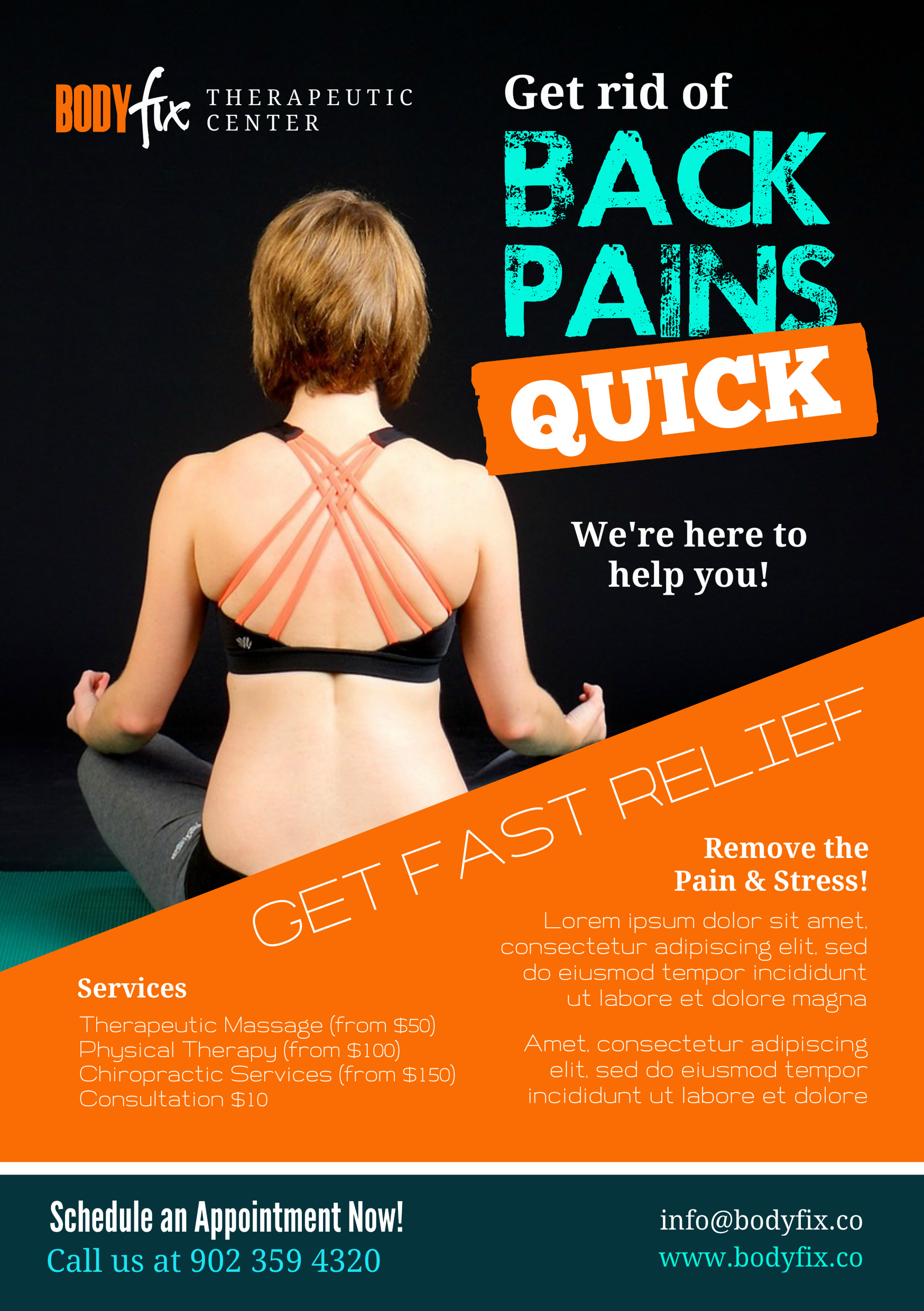 chiropractic a promotional flyer premadevideos com a chiropractic a5 promotional flyer premadevideos com a5 flyer