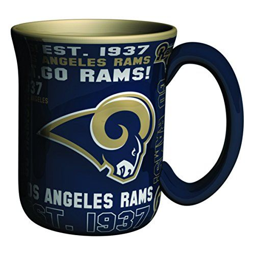 Sculpted Mug, Boelte  Los Angeles Rams 17-ounce Spirit NFL