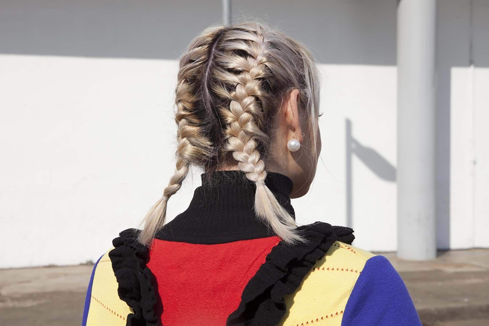 Dutch braids french braid double dutch braid short hairstyles