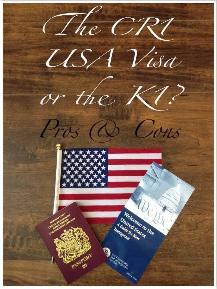 The cr1 usa visa or the k1 fiance visa immigrant visa