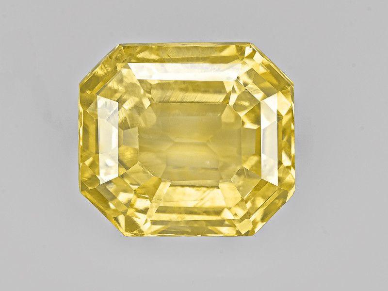 Yellow Sapphire 7 91ct In 2020 Yellow Sapphire Yellow Gemstones Gemstones