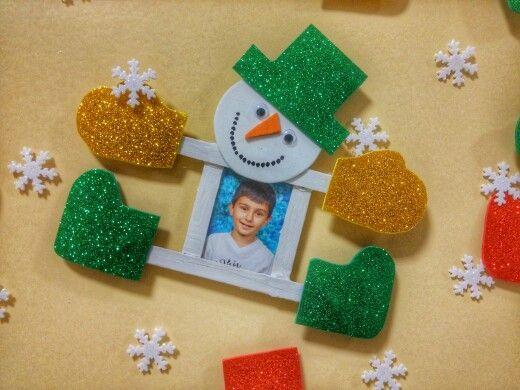 Pin de Laura Cortes en muñeco de nieve Pinterest Navidad