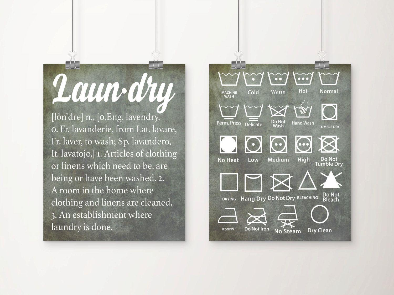Vintage laundry definition and symbols art print set by dcastudio vintage laundry definition and symbols art print set by dcastudio biocorpaavc